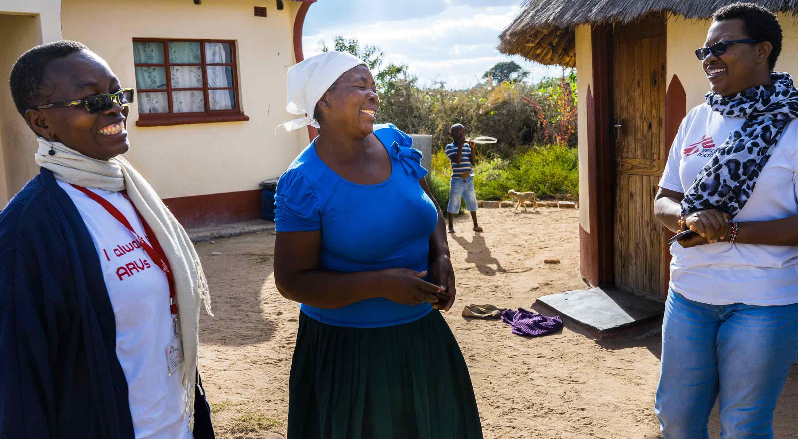 Att Förhindra Livmoderhalscancer I Zimbabwe Läkare Utan Gränser