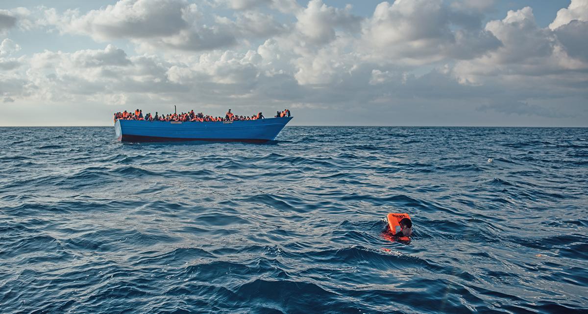 Grymheter mot flyktingar i libyen