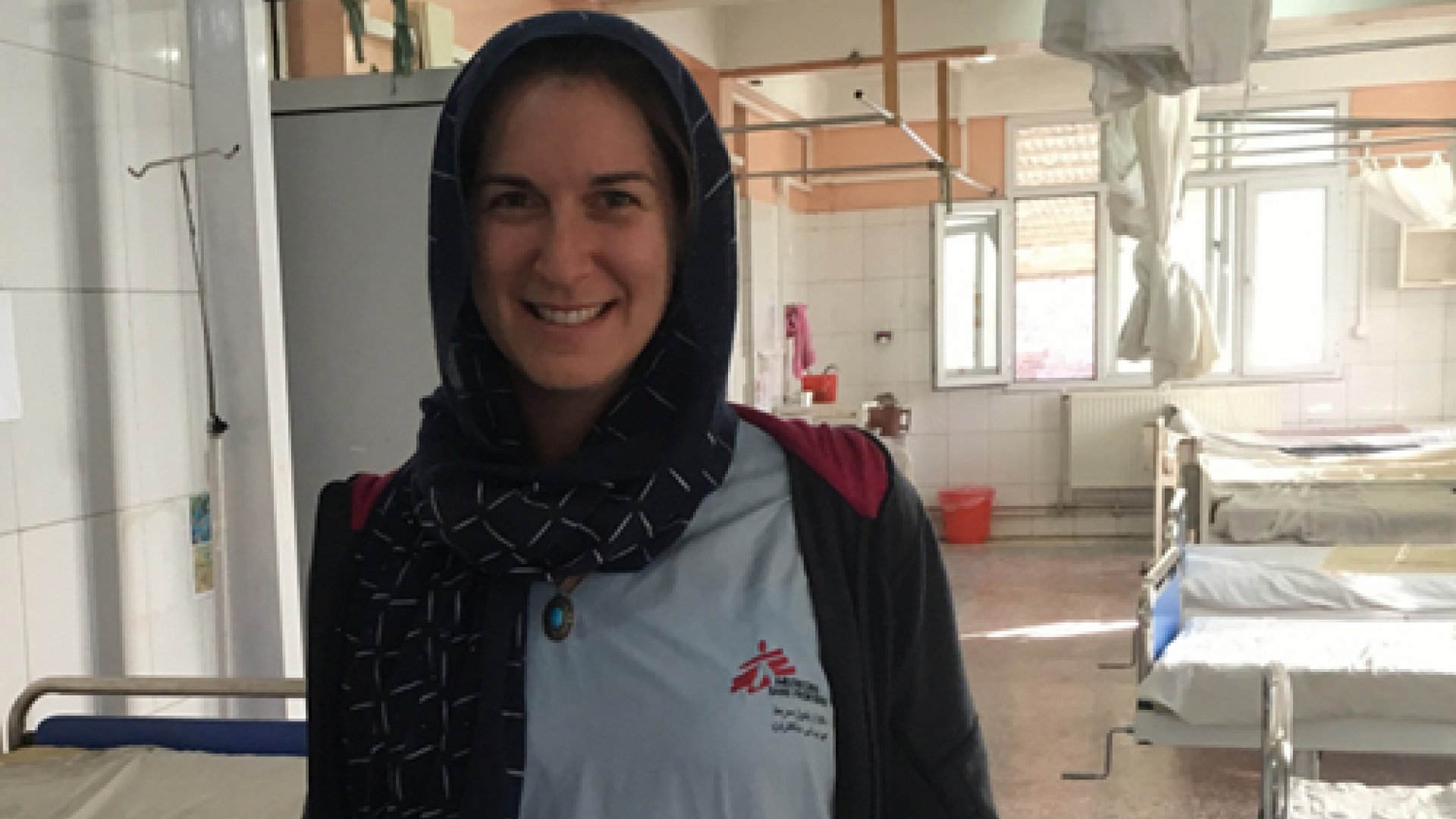 Gynekologen Heather Gottlieb i Afghanistan.