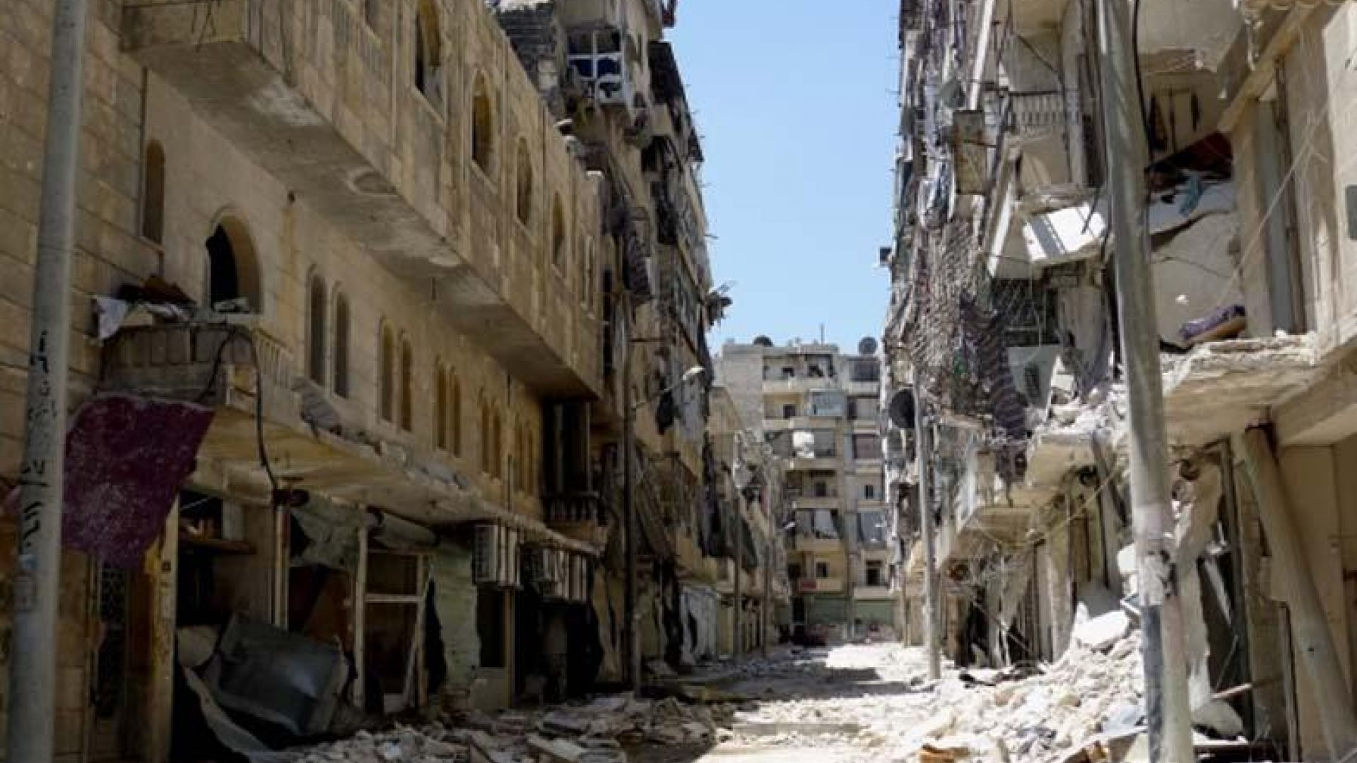 Aleppo i April 2013.