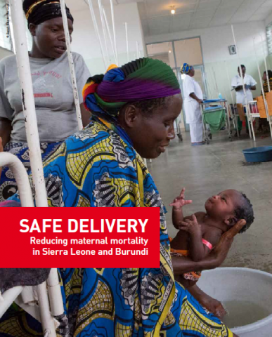 Safe Delivery - reducing maternity mortality