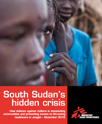 SOUTH SUDAN: Hidden Crisis