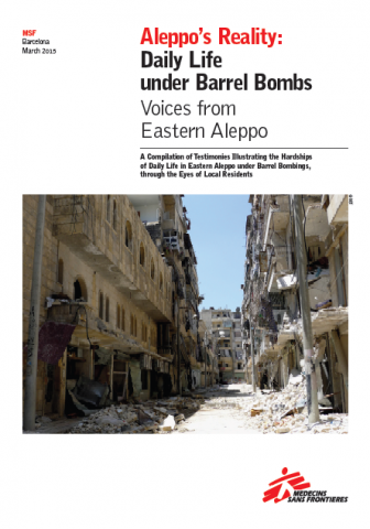 Aleppo's Reality: Daily Life under Barrel Bombs