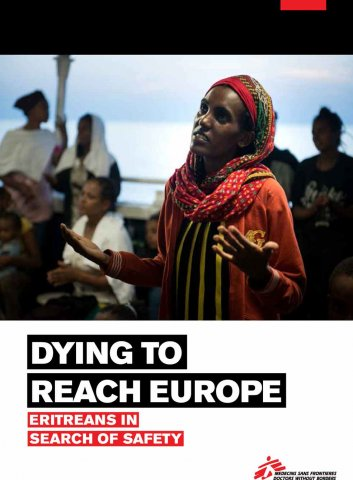 Rapport - DYING TO REACH EUROPE: ERITREANS IN SEARCH OF SAFETY